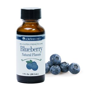 Blueberry Flavor, (with natural flavors)