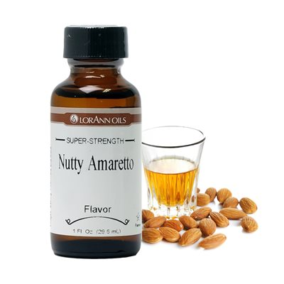 Amaretto Flavor, Nutty   1  oz.