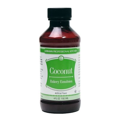 Coconut, Bakery Emulsion 4 oz.