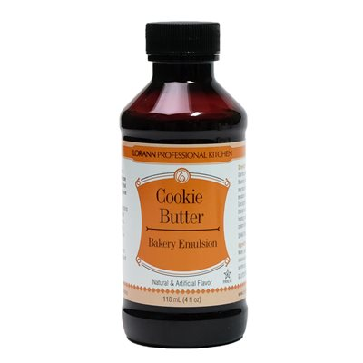 Cookie Butter, Bakery Emulsion 4  oz.