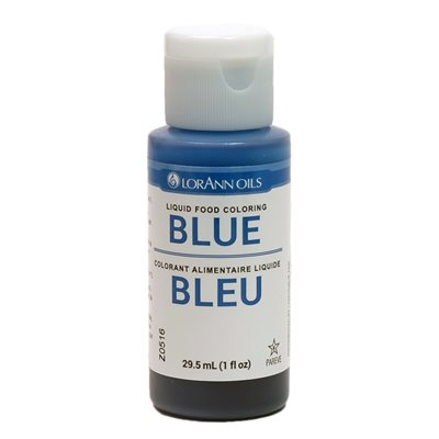 Blue Liquid Food Coloring | LorAnn Oils