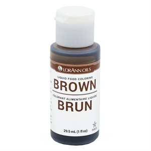 Brown Liquid Food Color