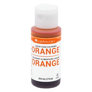 Orange Liquid Food Color
