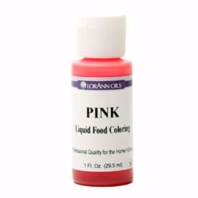 Pink Liquid Food Color 1  oz.