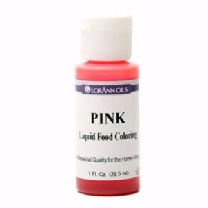 Pink Liquid Food Color
