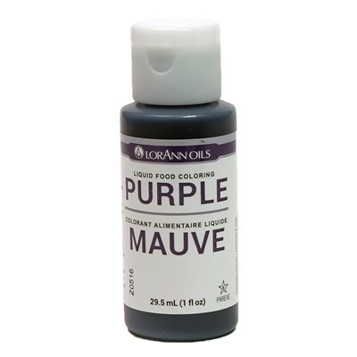 Purple Liquid Food Coloring | LorAnn Oils