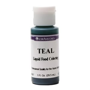 Teal Liquid Food Color