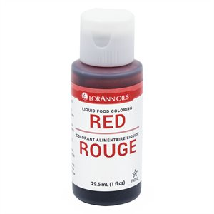 Red Liquid Food Color