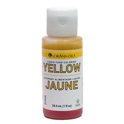 Yellow Liquid Food Coloring | LorAnn Oils