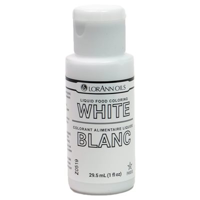 White Liquid Food Coloring | LorAnn Oils