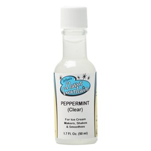 Peppermint (uncolored), Flavor Fountain