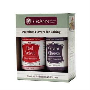 2 Pack, Red Velvet & Cream Cheese Emulsions