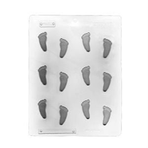 Baby Feet Candies Sheet Mold