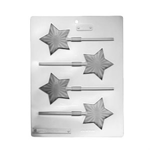 Bright Star Lollipop Sheet Mold