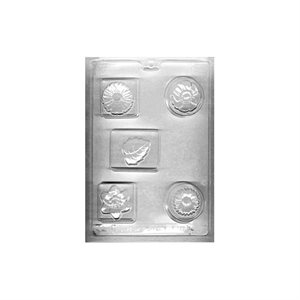 Blocks & Flowers Soa / Bath Fizzie Mold