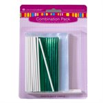 Lollipop Sticks, Bags & Twist Ties Combo Pack
