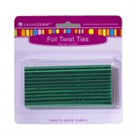 Twist Ties, Green 50 pack