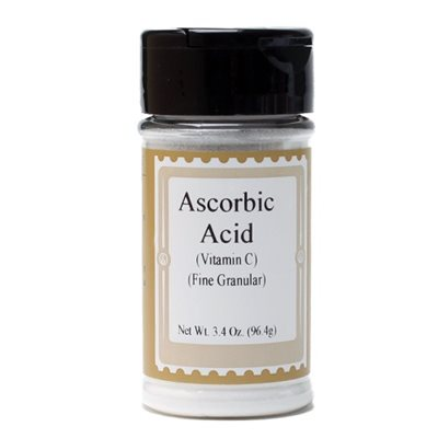 Ascorbic Acid (Vitamin C) 3.4  oz. jar