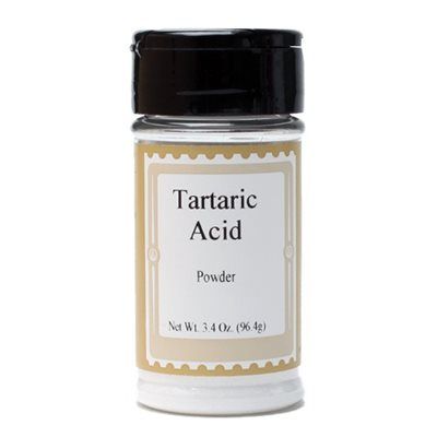 Tartaric Acid Powder 3.4  oz. jar