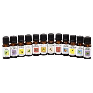 12-unit Collection 1 / 3 ounce Essential Oils