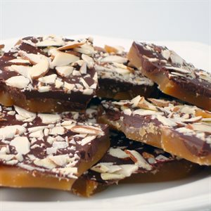 Almond Butter Toffee
