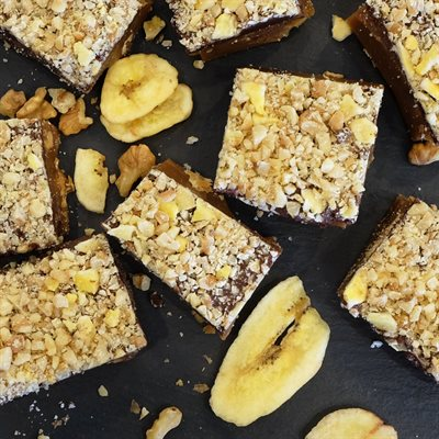Banana Nut Toffee