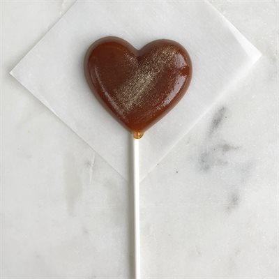 Cinnamon Caramel Lollipops
