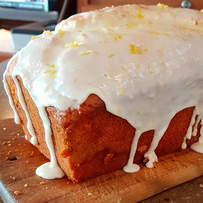 Glazed Lemon Loaf Cake Lorann Oils