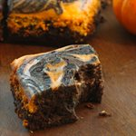 Quick Pumpkin Cream Cheese Brownies