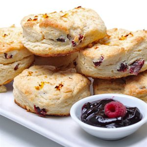 Cranberry Citrus Scones