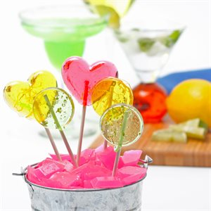 Cocktail Flavored Lollipops