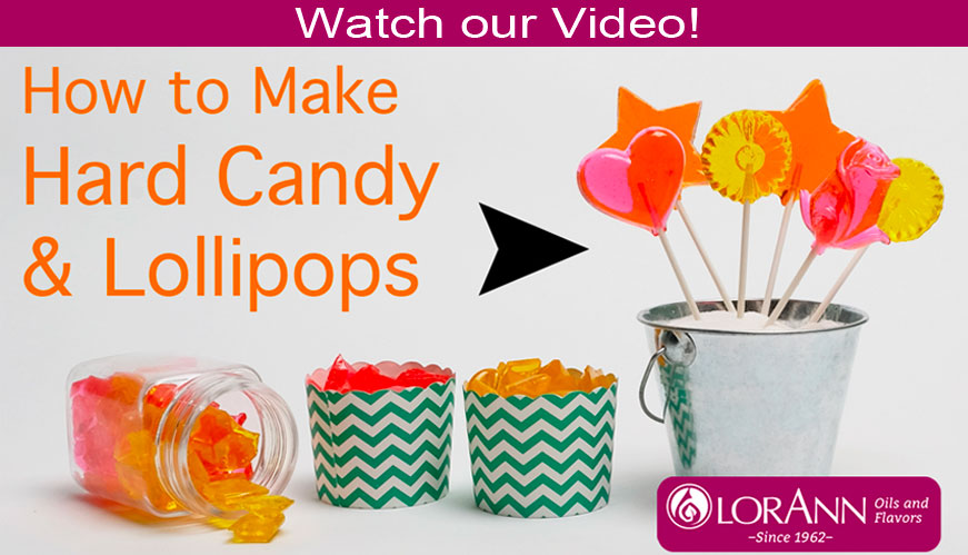 Watch video how to make hard candy